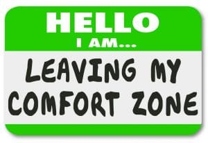Leave my comfort zone