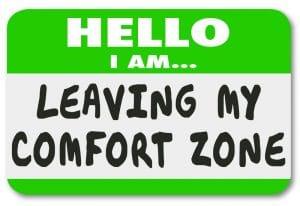Leave my comfort zone